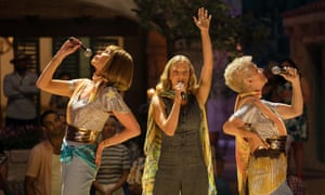 Christine Baranski, Amanda Seyfried and 'reliable delight' Julie Walters in Mamma Mia! Here We Go Again.