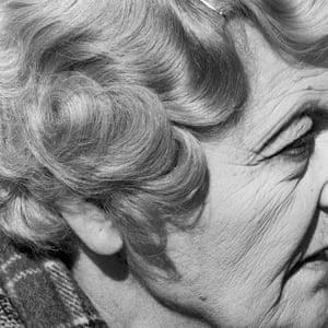 David Goldblatt's Woman with Pierced Ear, Joubert Park, Johannesburg, from his Particulars series