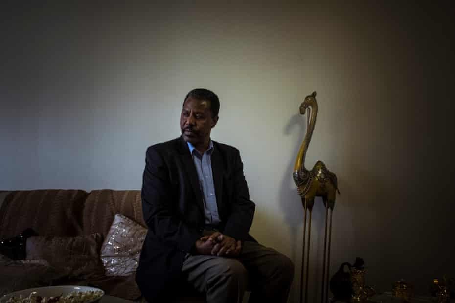 Elhadi Abass, originally from Sudan, has lived on the Flemington estate for 18 years