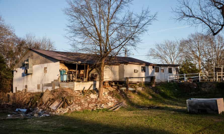 A house in Camden, Alabama.