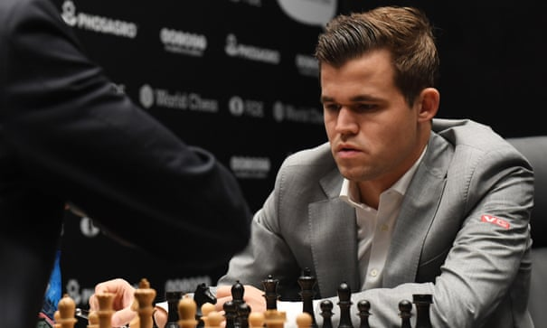 Magnus Carlsen saves draw as Fabiano Caruana falters in Game 8 – as