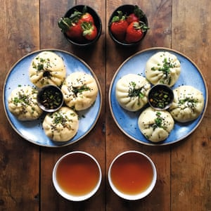 Shanghainese breakfast dumplings