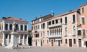 Venice palazzo apartment exterior