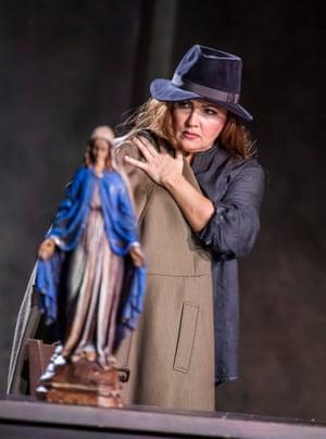 Anna Netrebko (Donna Leonora) in La forza del destino.