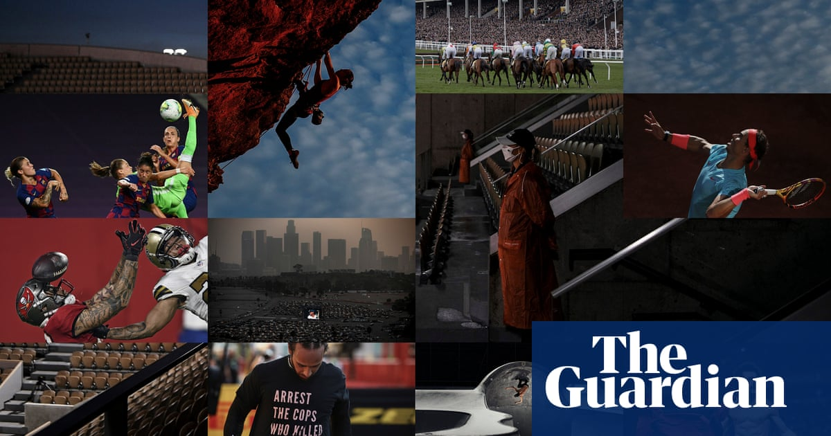 Fire, fury and defiance: a year of disrupted sport unlike any other – in pictures