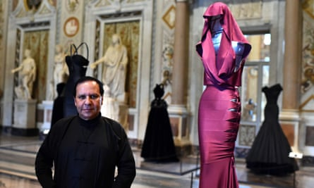 London To Host Self Curated Azzedine Alaia Exhibition Next Spring Azzedine Alaia The Guardian