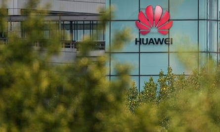 A general view of the Huawei UK headquarters on July 14, 2020 in Reading, England.