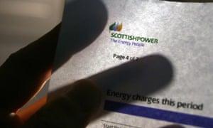 Scottish Power bill.