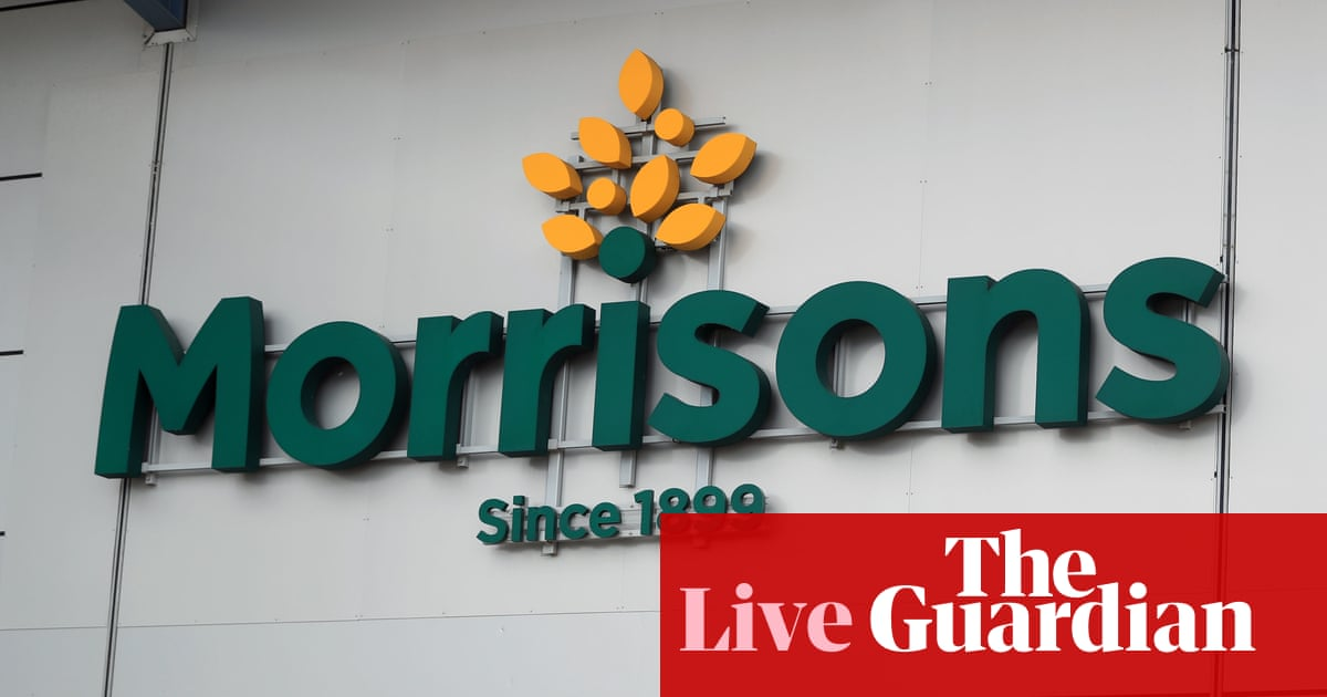 Morrisons takeover approach sparks jobs fears – business live