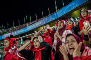 Sports, stories winner. Iran's Persepolis football club misses an opportunity in a counterattack