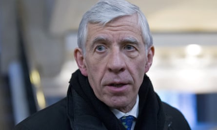 Jack Straw, the former foreign secretary