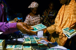 Gospel leaflets, Nigeria.