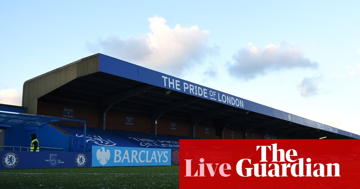 Chelsea v Aston Villa: Women's Super League –live!