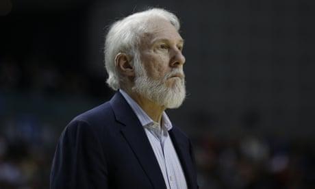Spurs coach Gregg Popovich calls Donald Trump a bully and praises marches