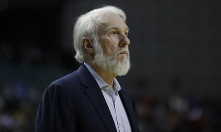 Gregg Popovich said he is troubled by the president's volatility