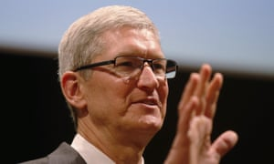 Tim Cook said in the interview with Time: 'We should take a step back and look at the total that's available, because there's a mountain of information available about us.'
