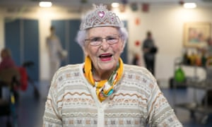 Dot Sullivan, a residents of the Uniting The Marion aged care home