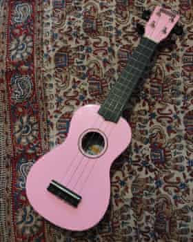 Imogen's ukulele