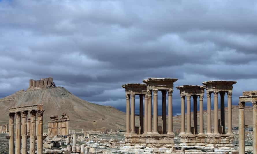 Palmyra's monumental entrance