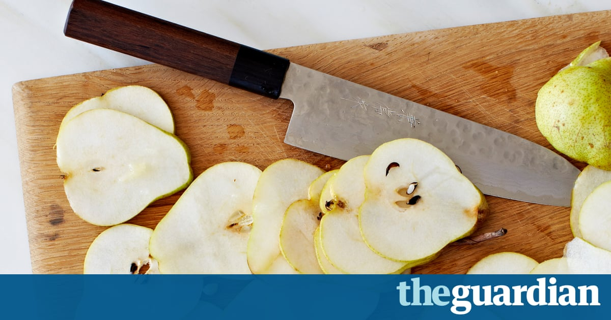 Claire Ptak's recipe for baked pear crisps and pear eve's pudding ...