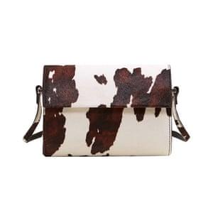 Cow print leather bag, £69.99, mango.com