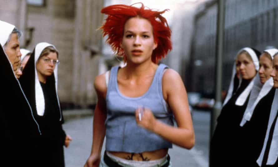 'I'm not a runner. Never was. Never will be' … Franka Potente in the 1998 cult classic.
