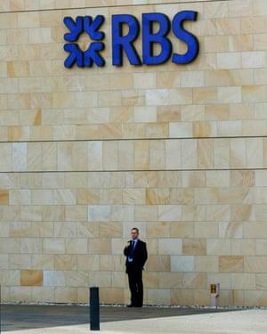 Royal Bank of Scotland headquarters, Edinburgh.