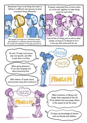 Understanding autism cartoon, part four.
