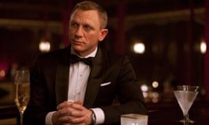 Shaken, not stirred … Daniel Craig as 007 in Skyfall.