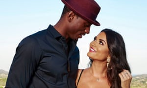 Ovie Soko and India Reynolds from Love Island.