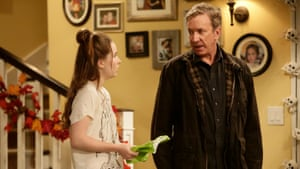 Tim Allen on his sitcom Last Man Standing, with Kaitlyn Dever.