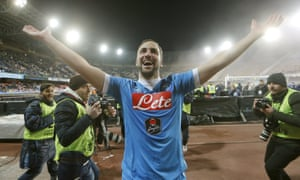 Higuaín was irresistible during his spell with Sarri at Napoli.