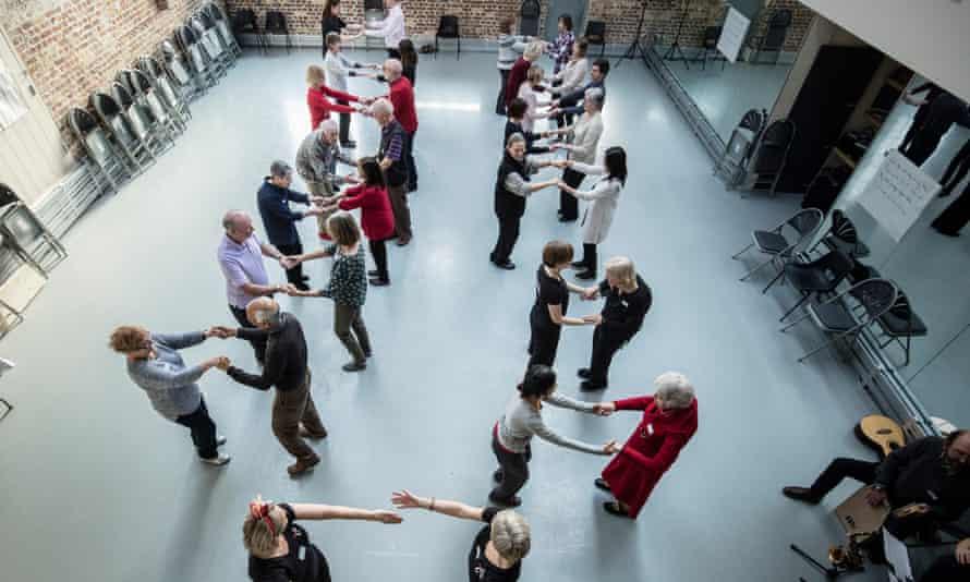 A Parkinson's Can Dance class