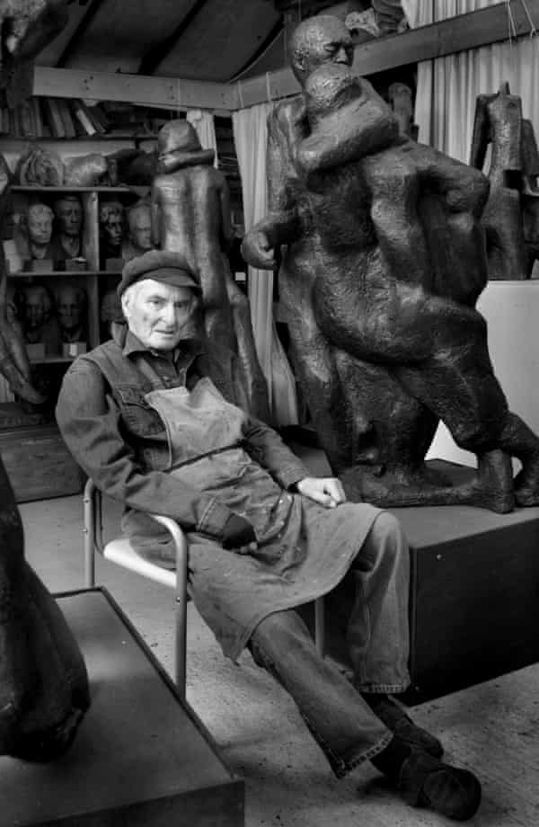 Alan Thornhill in his studio in Putney, south-west London, in 2009.