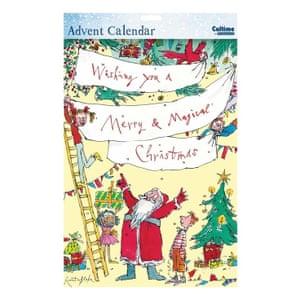Quentin Blake paper calendar, papertiger.co.uk