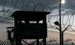 Guard tower at Guantánamo Bay