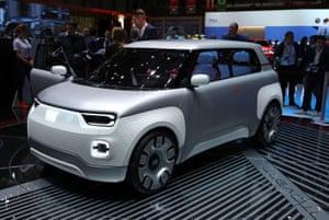 Fiat Centoventi – an all-electric Panda concept car.