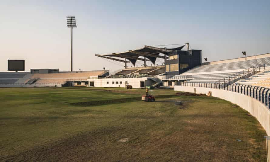 Asian Town boasts a 13,000-seat floodlit cricket stadium, which is popular with cricket-mad south Asian migrant workers.