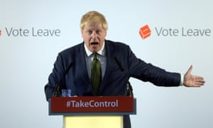 Boris Johnson, the former mayor of London, makes a speech on Monday urging voters to back the leave campaign.