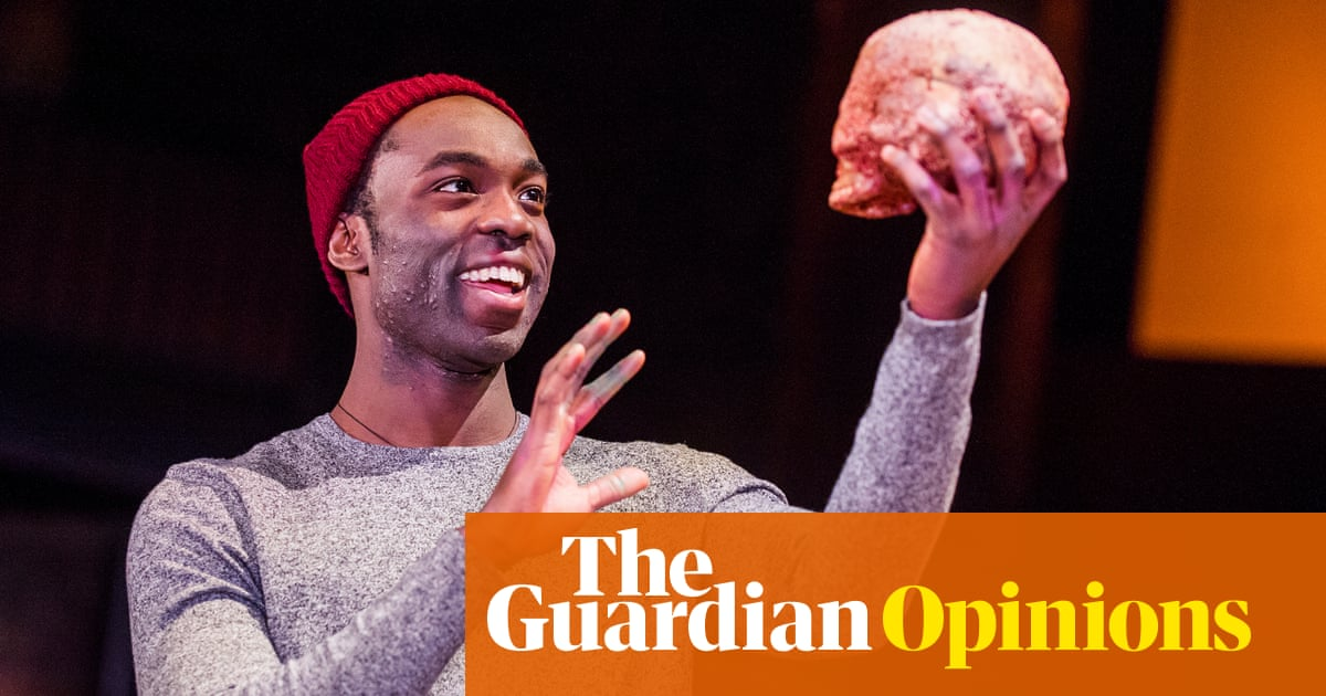 'Is Hamlet about a small village?' asked Grandad. At least this generation can Google it