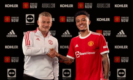 'It's a dream come true': Sancho signs for Manchester United – video