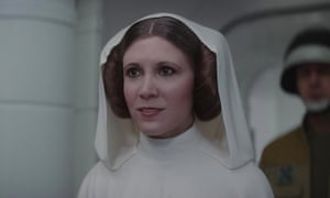 Commonplace in modern cinema ... a digital Carrie Fisher in 2016's Rogue One: A Star Wars Story.