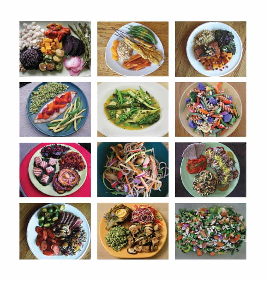 Planetary health diet suggestions.