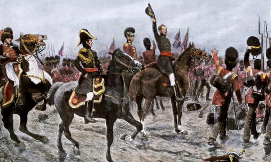 Duke of Wellington at Waterloo