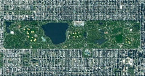 Central Park in New York City, US