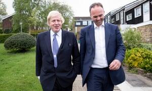 Gavin Barwell campaigning in Croydon Central with Boris Johnson