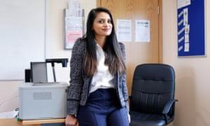 Kiran Kaur Gill in her office