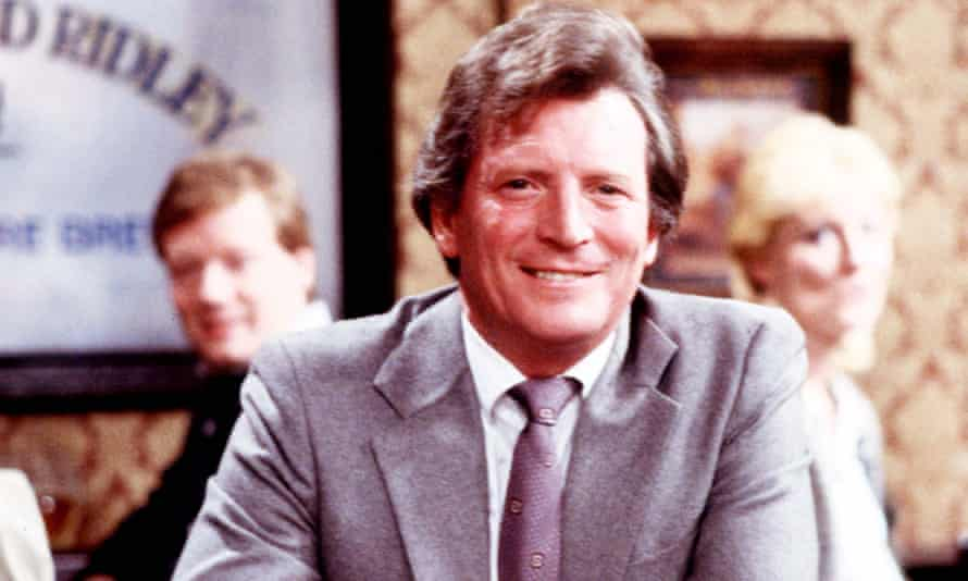Johnny Briggs as Mike Baldwin in Coronation Street