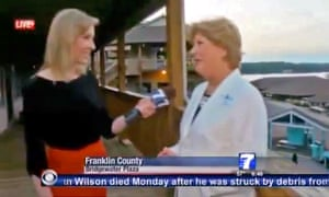 Alison Parker on WDBJ moments before the fatal shooting.