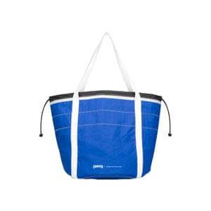 blue maxi bag, £65, camper.com